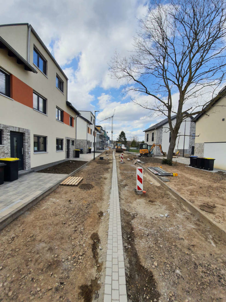 Doppelhäuser und Grundstücksentwicklung Bauträger-Projekt Hürth