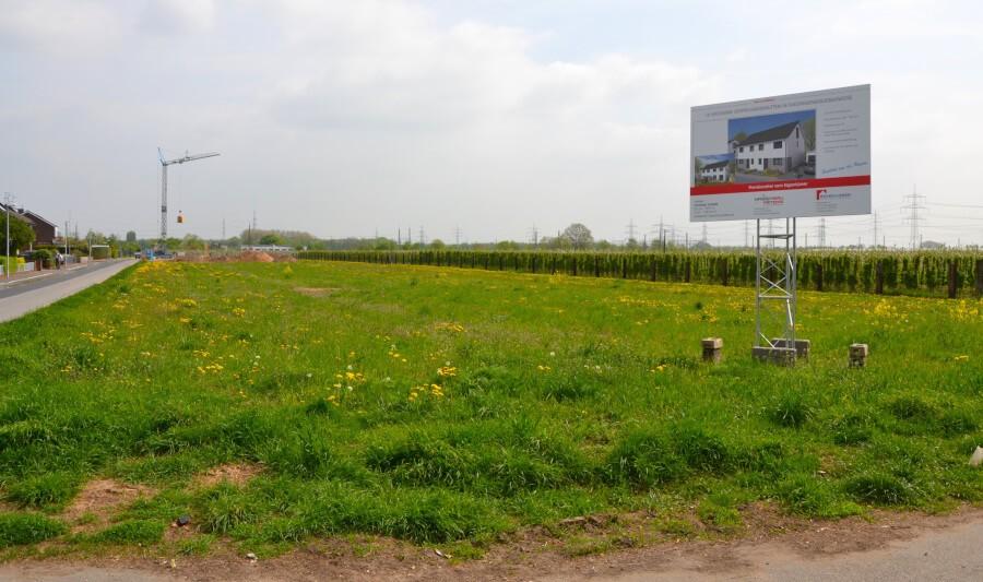 Beispiel-Bild: Grundstückserschließung